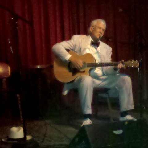 Bill Reid at the Cactus Cafe, Austin, Texas